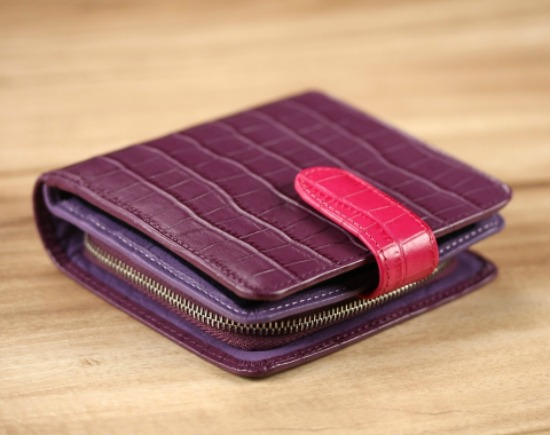 Clarkson short wallet from Story Leather