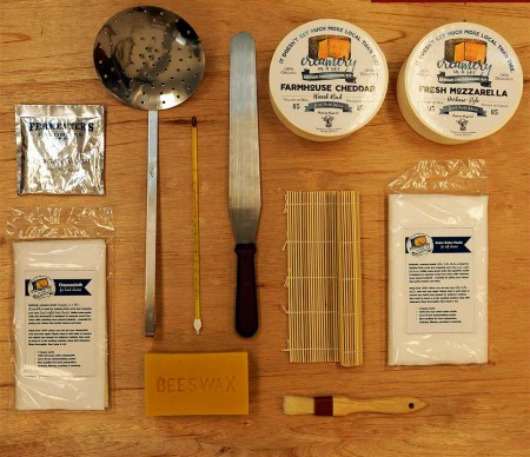 Creamery in a box essential cheesemaking kit