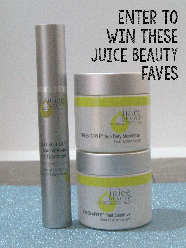 Enter to win these Juice Beauty favorites