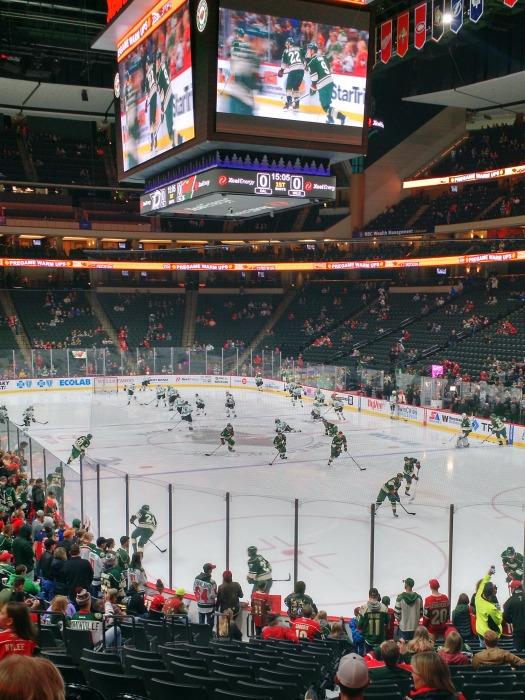Minnesota Wild V Dallas Stars Pregame Skate 10 29 2016