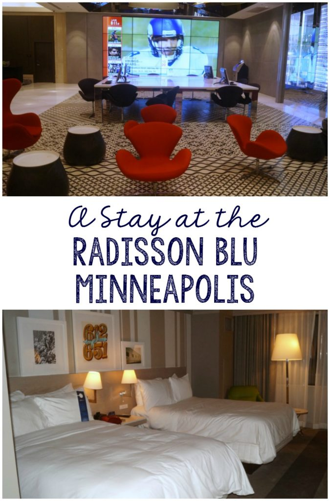 A review of the Radisson Blu Minneapolis hotel in Downtown Minneapolis, MN