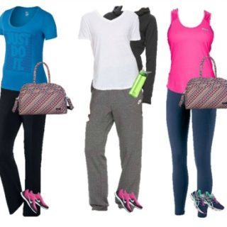Kohls Mix and match fitness wardrobe 11-15
