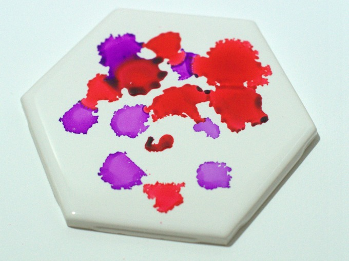 Valentine's Day Tile Coaster Tutorial