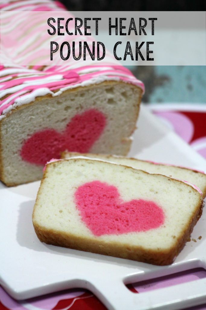 How to make a Secret Heart Strawberry Vanilla poundcake