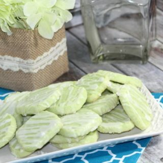 How to make Delicious Lime Margarita Cookies with Tequila Glaze