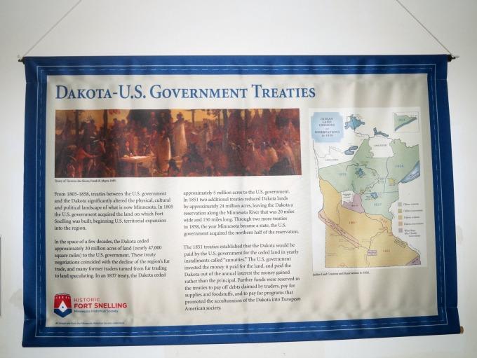 Dakota US treaties information