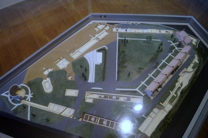 3d Model of Fort Snelling before preservation began