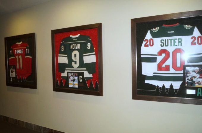 Minnesota Wild Captains jerseys