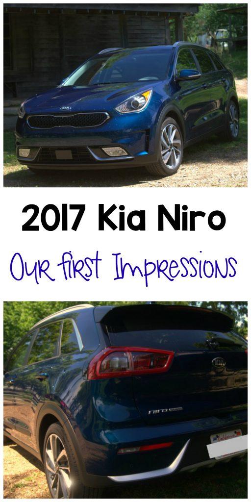 2017 Kia Niro Touring Editon Hybrid Crossover