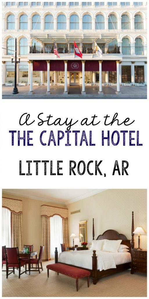 A stay at The Capital Hotel in Little Rock, AR