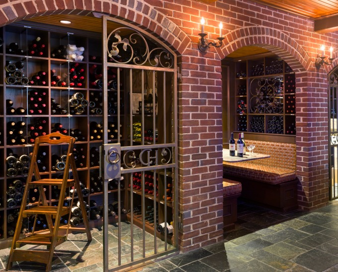 Capital Hotel wine cellar