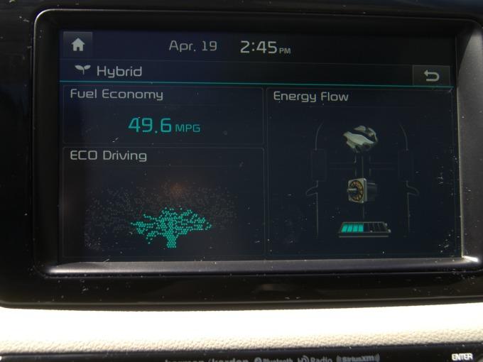 Kia Niro Eco Driving Monitor