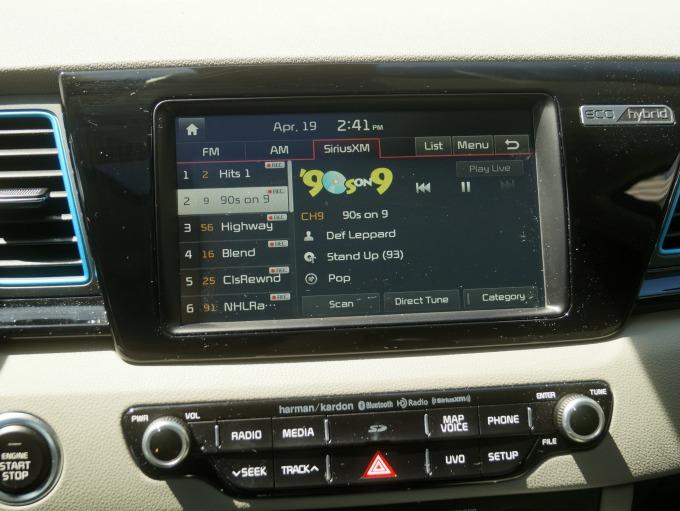 Kia Niro Harman Kardon Sound System