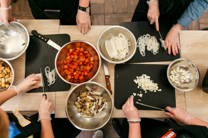 Start a side gig making money by teaching cooking classes