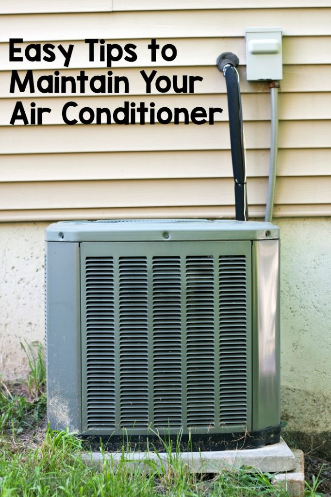 Simple and easy ways to maintain your air conditioner. This will help it work more efficiently and last longer