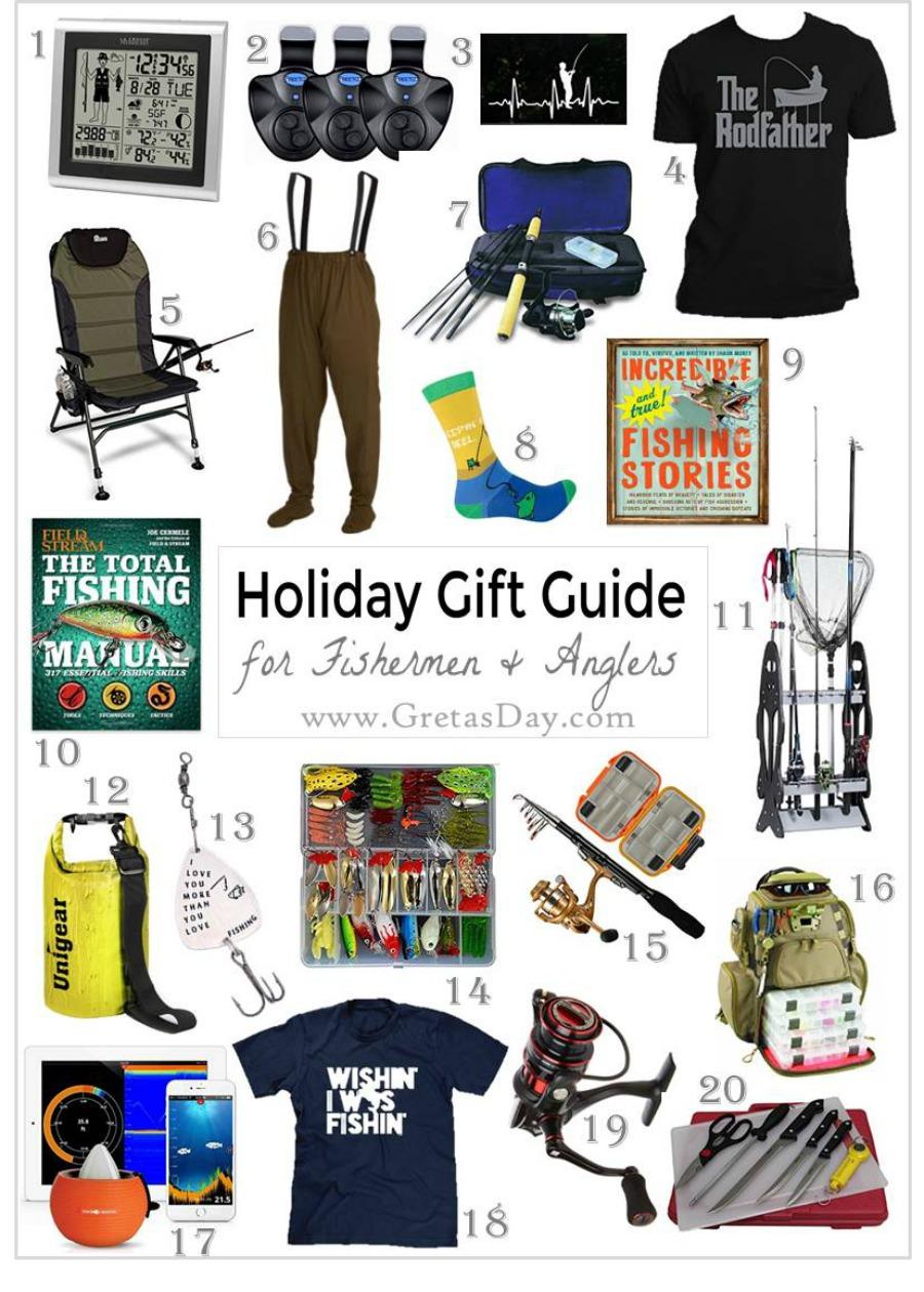 20 Great Ideas for the Fisherman in Your Life from Amazon ...