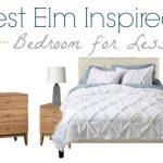 Mid Century Luxe West Elm Bedroom Inspiration   Copycat Look for Less