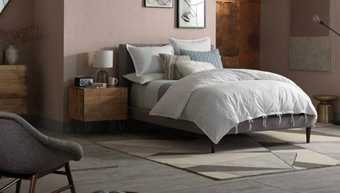 Mid Century Luxe West Elm Bedroom Inspiration