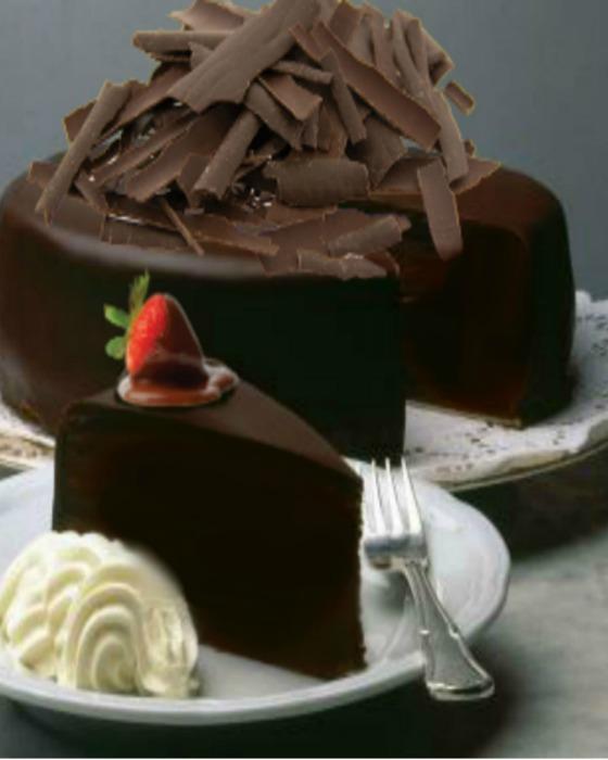 Decadence Truffle Cake from The Dark Chocolate Bakery