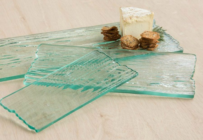 Annieglass Grove Plank Cheese Board