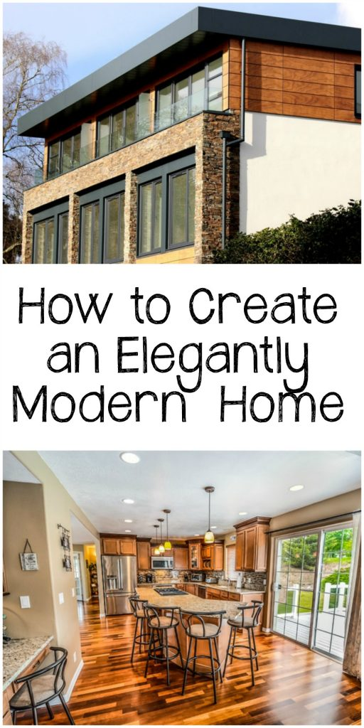 Learn how to create an elegantly modern home. This is the kind of home that feels warm and inviting, yet has all the modern features of automation. It's totally possible.