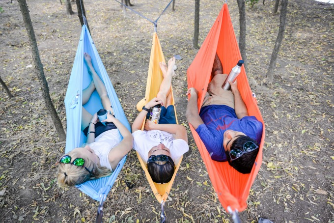 Kammok Wallaby hammock makes a great gift for the camping lover