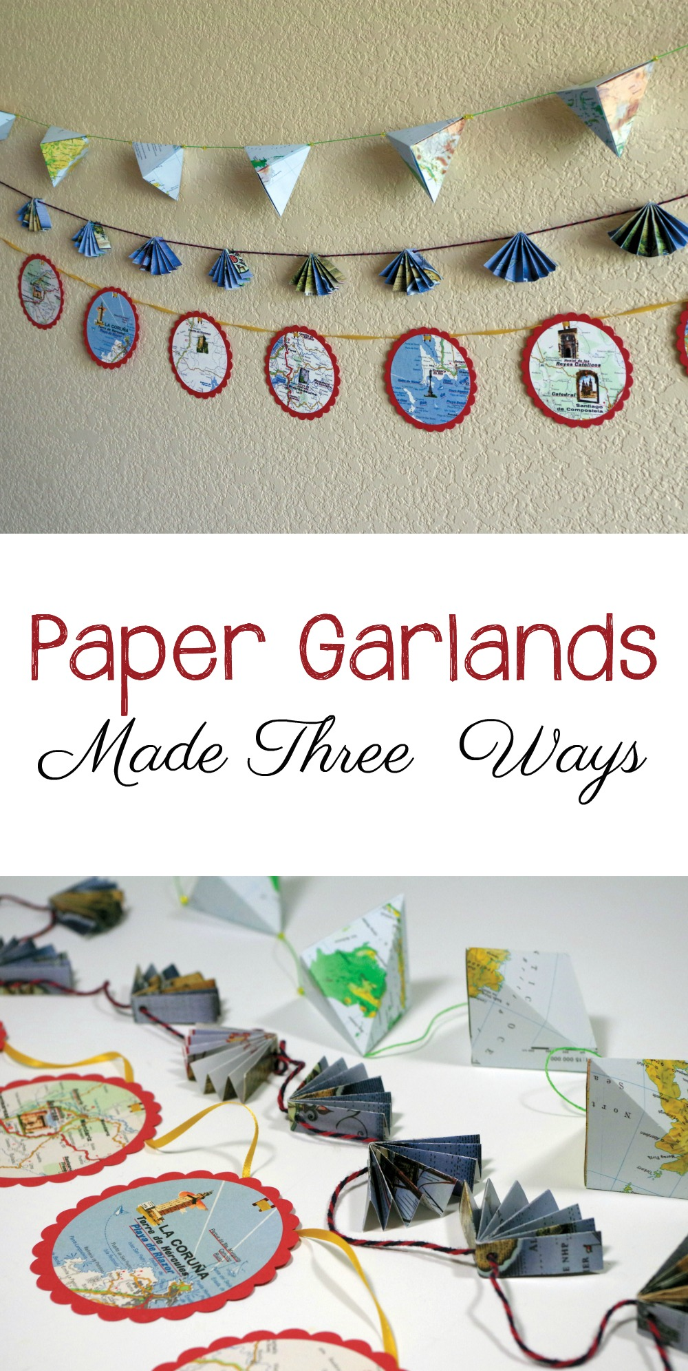 how to make a map on paper