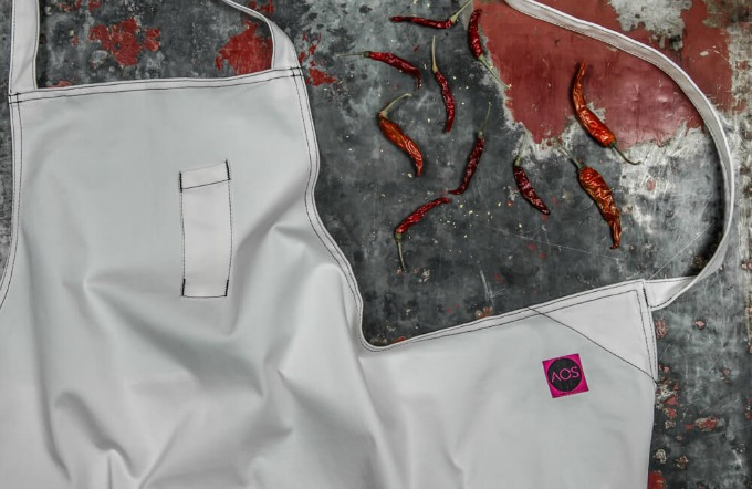 AOS by Sosa chef apron