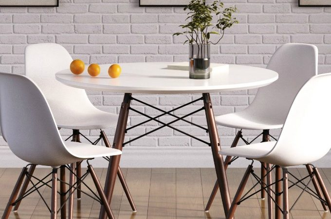 Eiffel dining table by InMod furniture