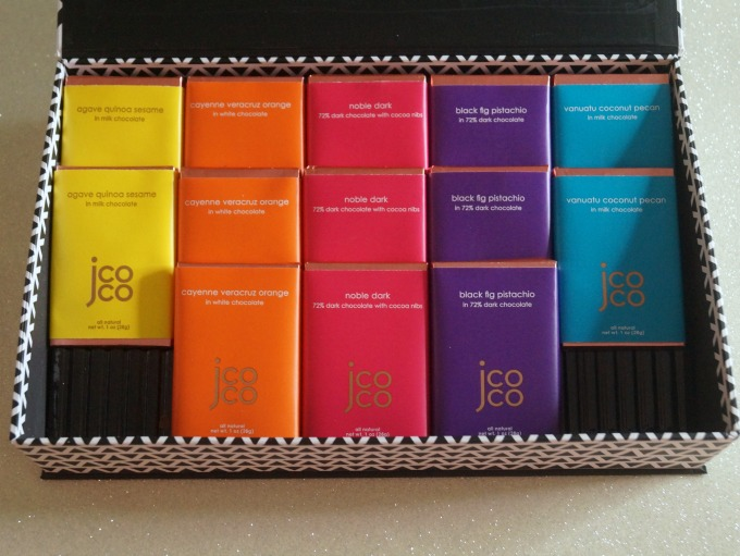 jcoco Chocolate Tasting Experience collection
