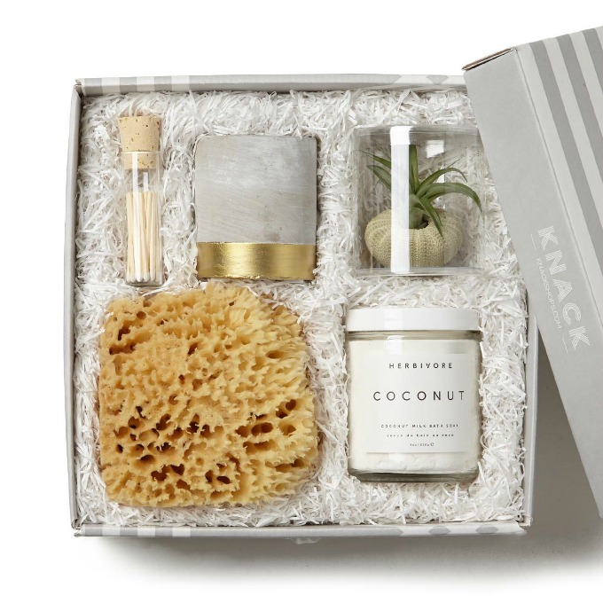 Knack Just Breathe Spa gift set