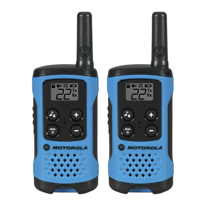 Motorola T100 walkie talkie radios