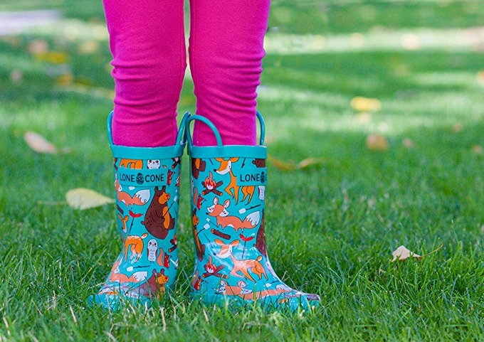 Lonecone rain boots for kids