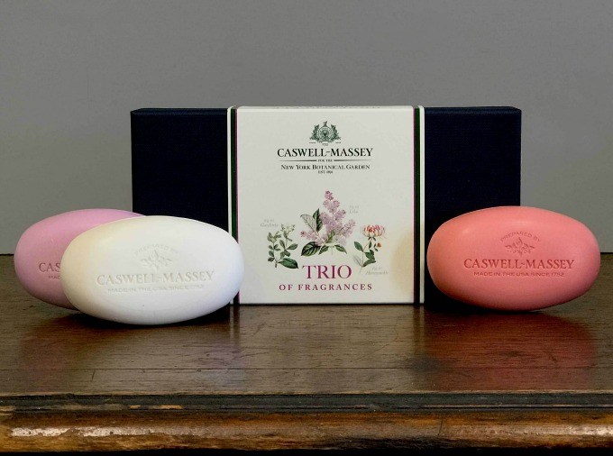 Caswell Massey NYBG Soap Set