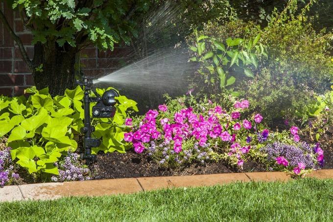 Orbit Yard Enforcer pest deterrent sprinkler