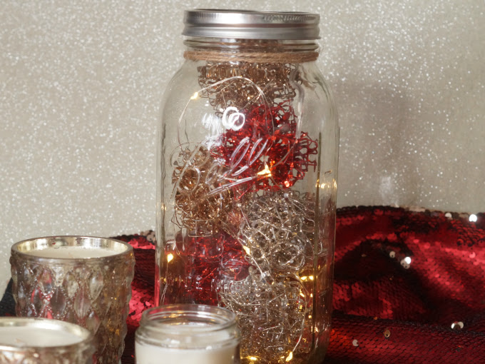 How to make a simple and elegant table centerpiece using Ball canning jars