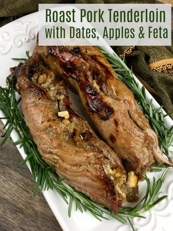 Roast Pork Tenderloin with Apples and Feta Recipe | How ...
