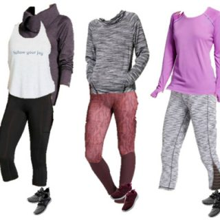 Target Workout Wear Mix and Match Wardrobe
