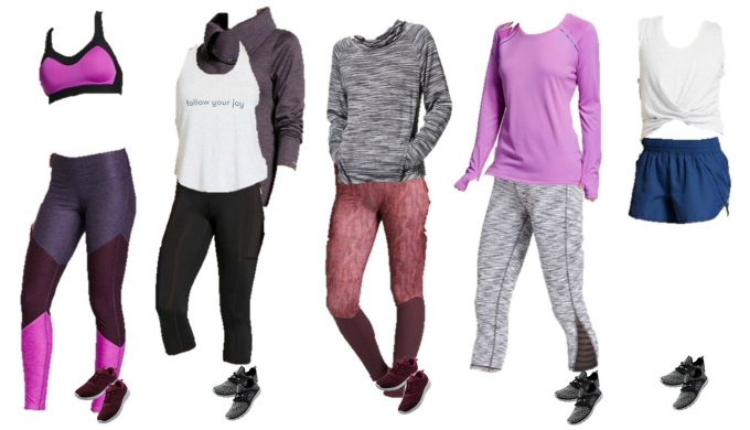 Target Mix and Match workout clothes 11-15