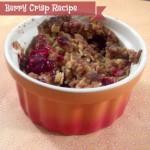 Berry Crisp Recipe: Breakfast of Champions