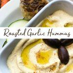 How to make roasted garlic hummus