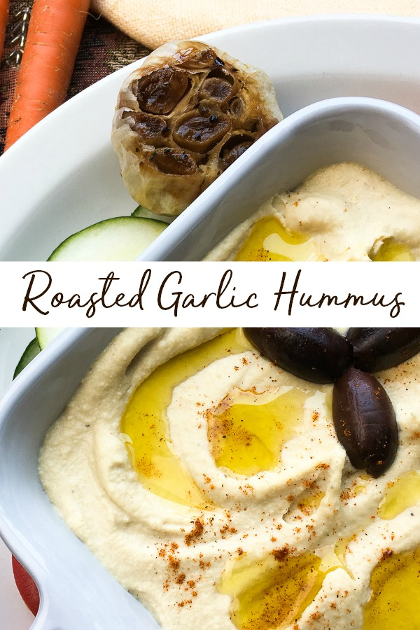 How to make roasted garlic hummus