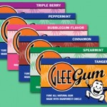 Glee Gum – It's a Natural Choice