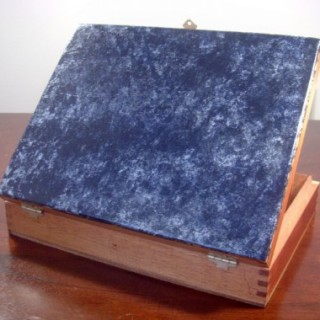 Marble Faux Finish Cigar Box and Frame