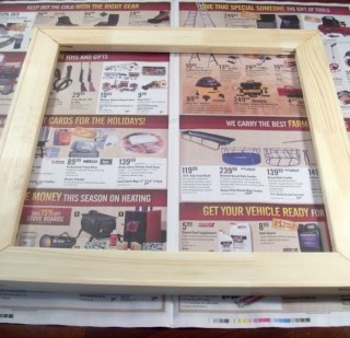 Make Your Own Picture Frame for $5