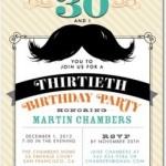 Tiny Prints Birthday Invitations for Adults
