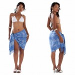 How to Wear a Sarong as a Wrap Skirt