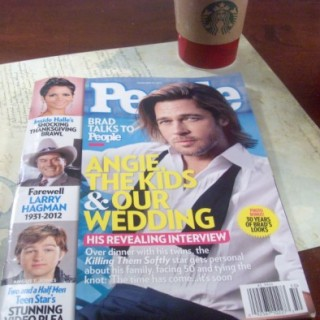 Relaxing with People Magazine