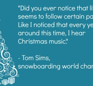 Tom Sims Christmas Music Quote