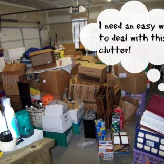 Easy ways to deal with clutter